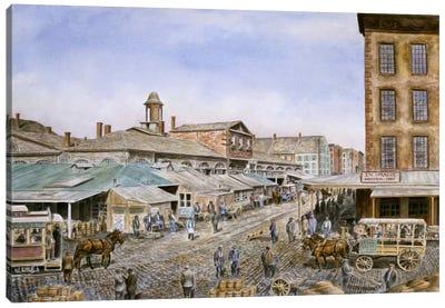 Fulton Market, New York Canvas Art Print