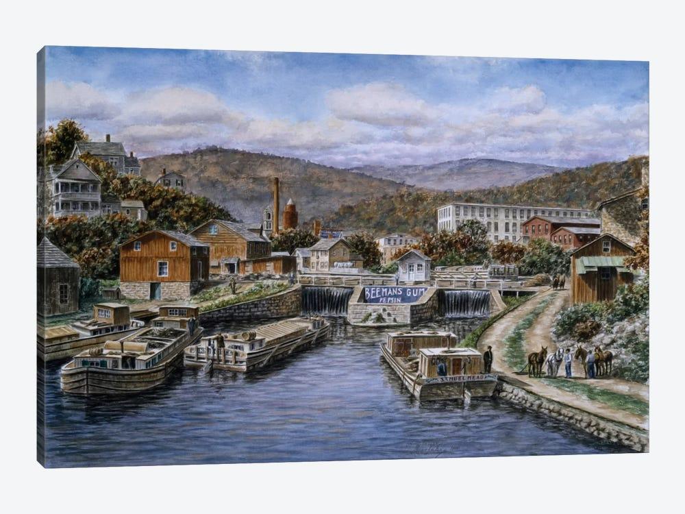Little Falls, New York by Stanton Manolakas 1-piece Canvas Art