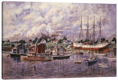 Launching of Eleanor F. Bartram Canvas Art Print