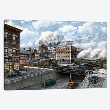 Penn 6500 Canvas Print #9516} by Stanton Manolakas Canvas Art