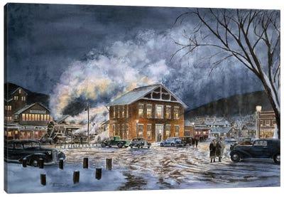 North Field, VT, circa 1940 Canvas Art Print