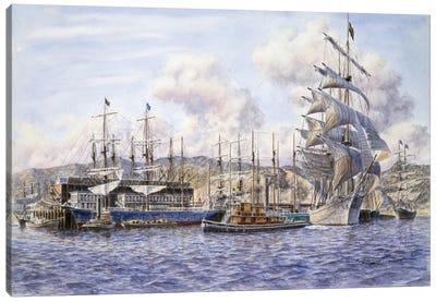Long Wharf, Santa Monica Canvas Art Print