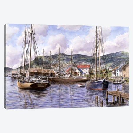 Fogo, Newfoundland, Canada Canvas Print #9525} by Stanton Manolakas Art Print
