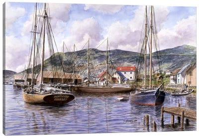 Fogo, Newfoundland, Canada Canvas Art Print