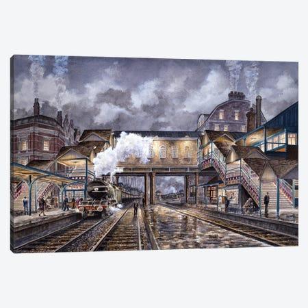 Night Train To Edinbourough Canvas Print #9538} by Stanton Manolakas Art Print