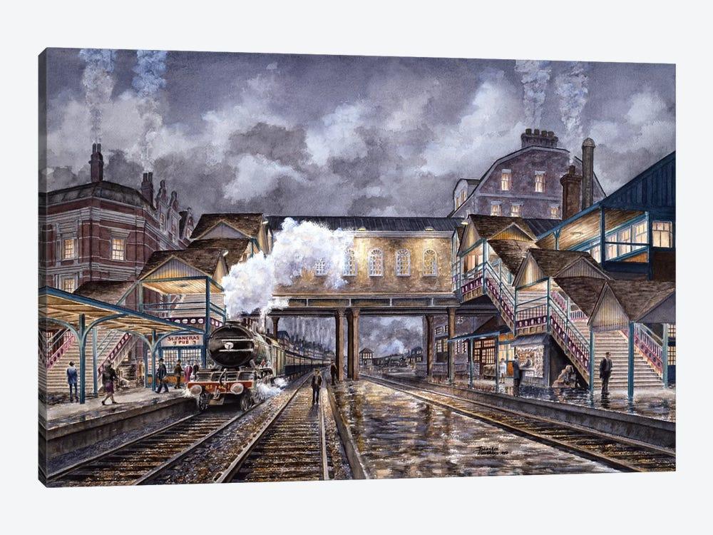 Night Train To Edinbourough by Stanton Manolakas 1-piece Canvas Art
