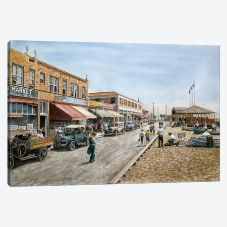 Newport Beach, California Canvas Print #9544} by Stanton Manolakas Canvas Print