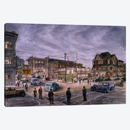 A Night on Bunker Hill Canvas Print #9553} by Stanton Manolakas Canvas Print