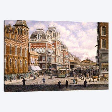 New York: Central Station Canvas Print #9557} by Stanton Manolakas Canvas Artwork