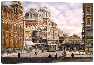 New York: Central Station Canvas Art Print