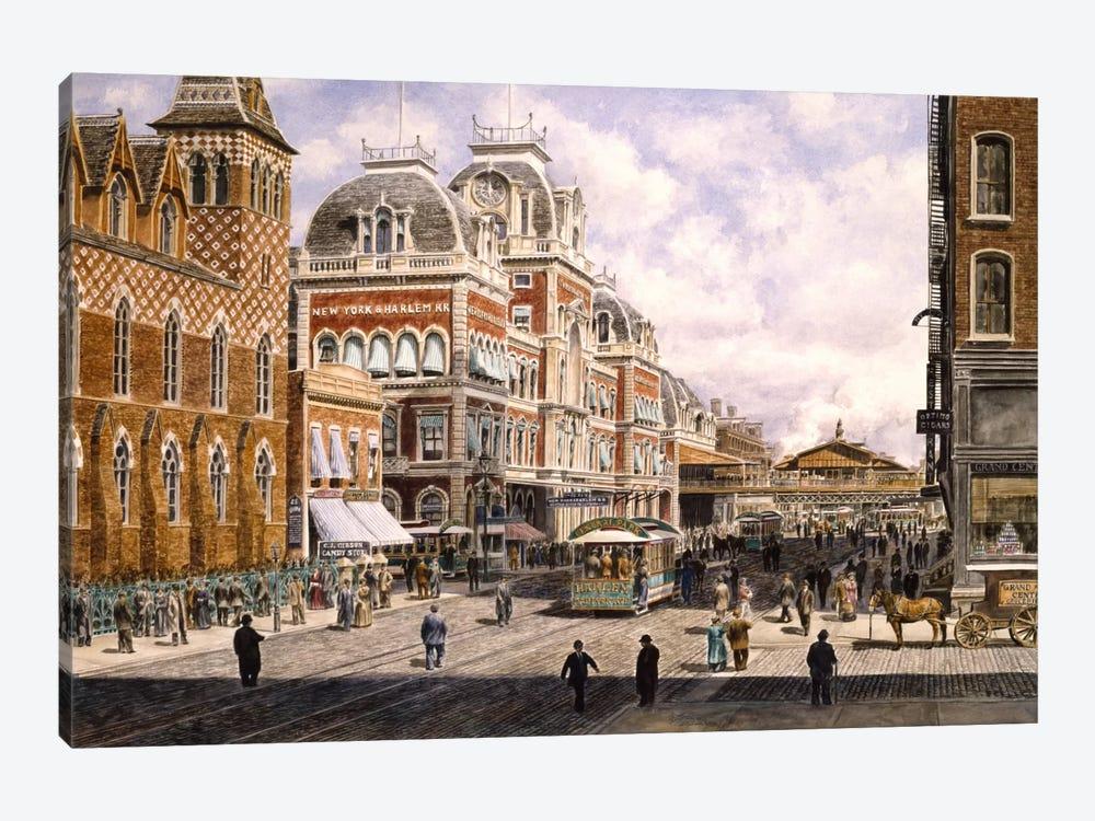 New York: Central Station by Stanton Manolakas 1-piece Canvas Print