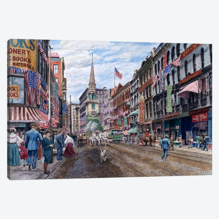 Boston Canvas Print #9558} by Stanton Manolakas Canvas Art Print