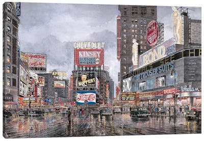 Times Square: New York Canvas Art Print