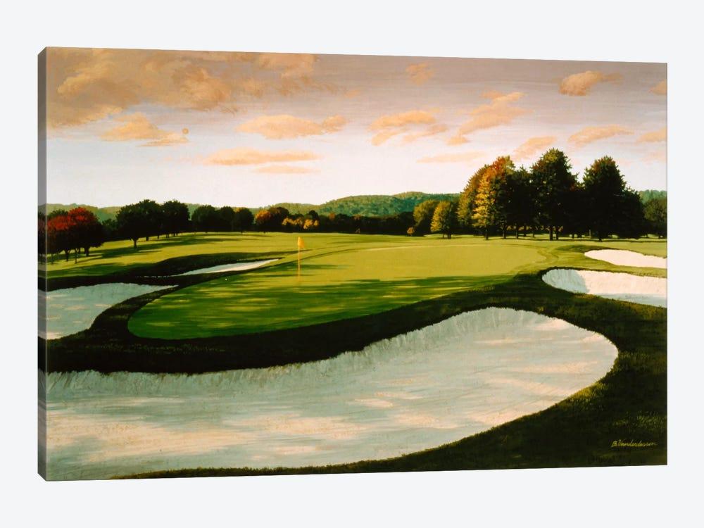 Golf Course 8 by William Vanderdasson 1-piece Canvas Artwork