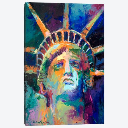 Statue Canvas Print #9624} by Richard Wallich Canvas Wall Art