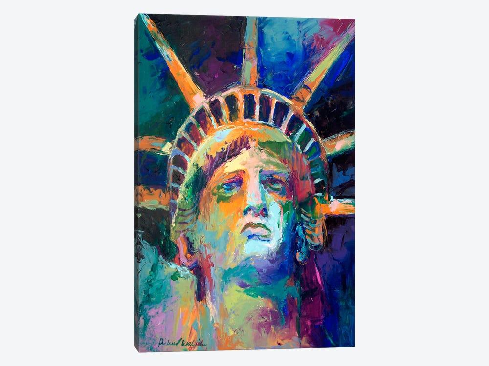 Statue by Richard Wallich 1-piece Canvas Art Print