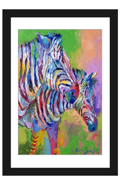 Zebra Framed Art Print