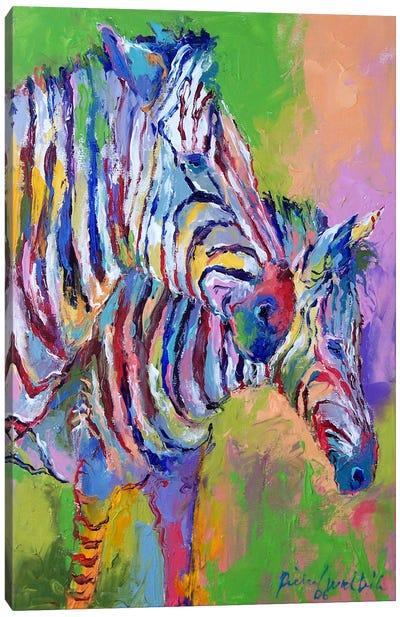 Zebra Canvas Art Print