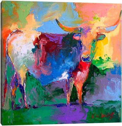 Bull Canvas Art Print