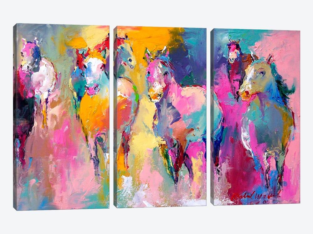 Wild by Richard Wallich 3-piece Canvas Artwork