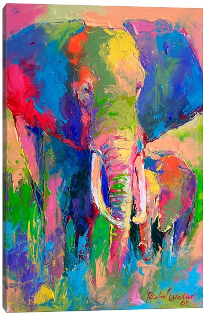 Elephant Canvas Print #9628