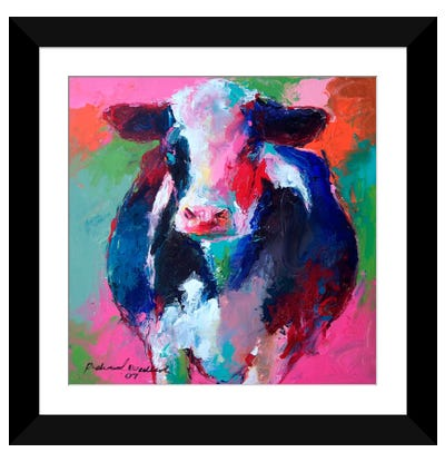 Cow II Framed Art Print