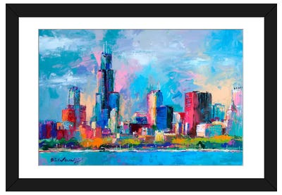 Chicago V Framed Art Print