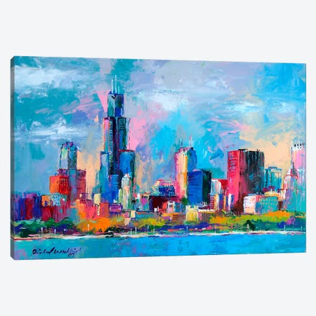 Chicago V Canvas Print #9630} by Richard Wallich Canvas Art