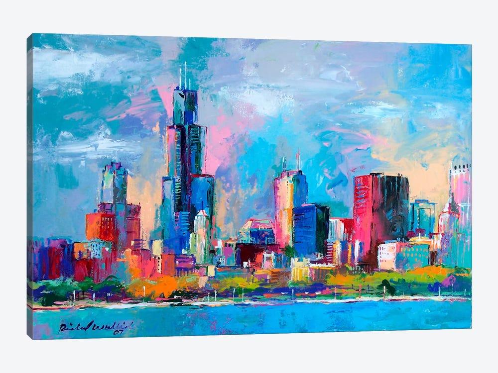 Chicago V by Richard Wallich 1-piece Canvas Art