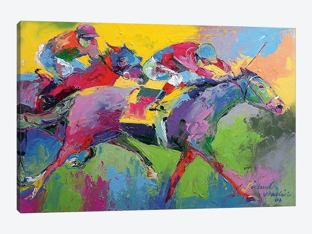 Furlong by Richard Wallich 1-piece Canvas Art Print