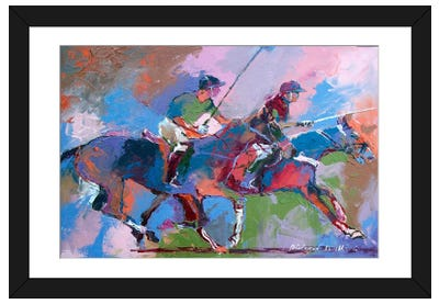 Polo I Framed Art Print