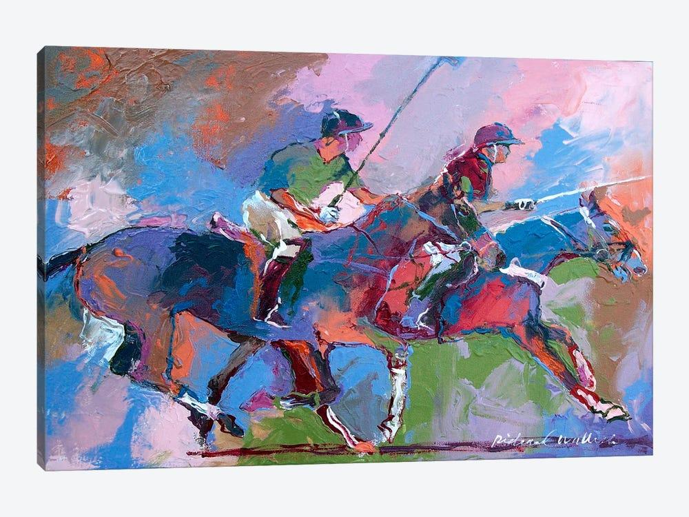 Polo I by Richard Wallich 1-piece Canvas Art Print