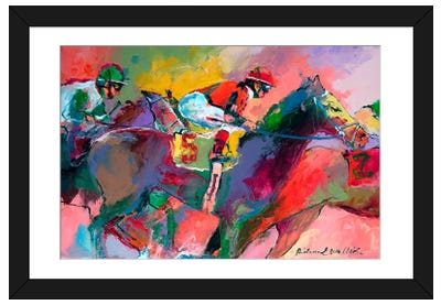 Race II Framed Art Print