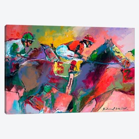 Race II Canvas Print #9634} by Richard Wallich Canvas Print
