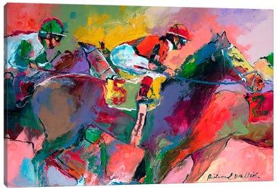 Race II Canvas Art Print