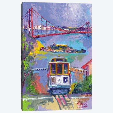 San Francisco Canvas Print #9635} by Richard Wallich Canvas Art Print