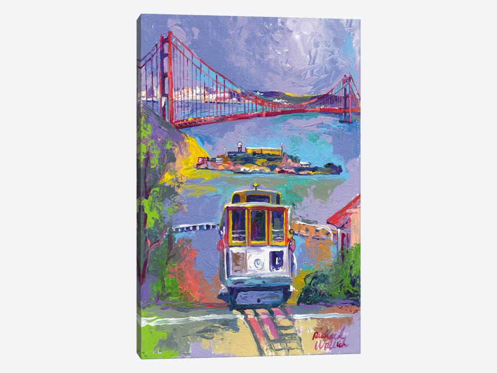 San Francisco by Richard Wallich 1-piece Canvas Print