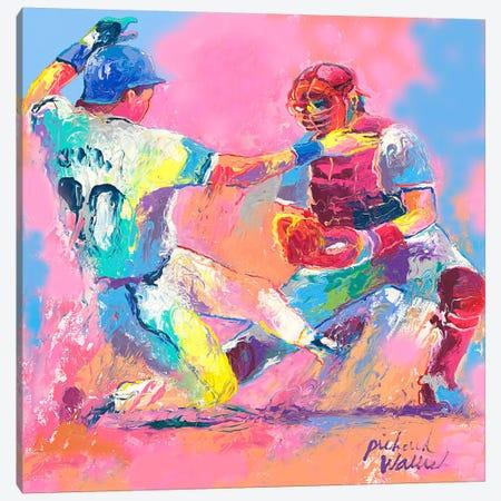 Baseball Canvas Print #9636} by Richard Wallich Canvas Art Print