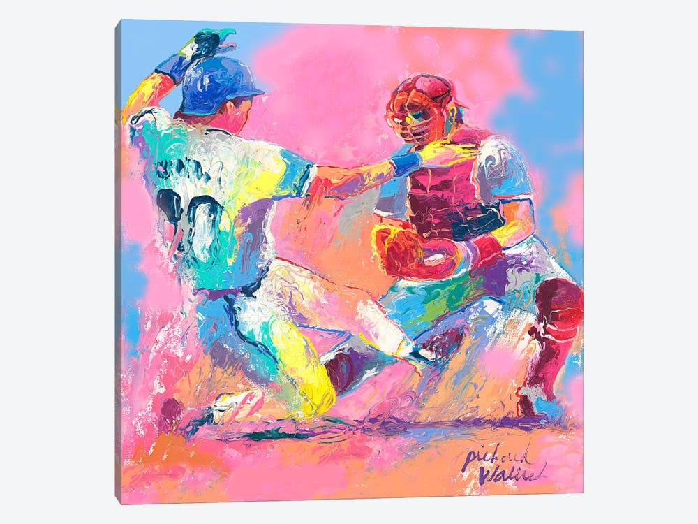 Baseball by Richard Wallich 1-piece Canvas Artwork