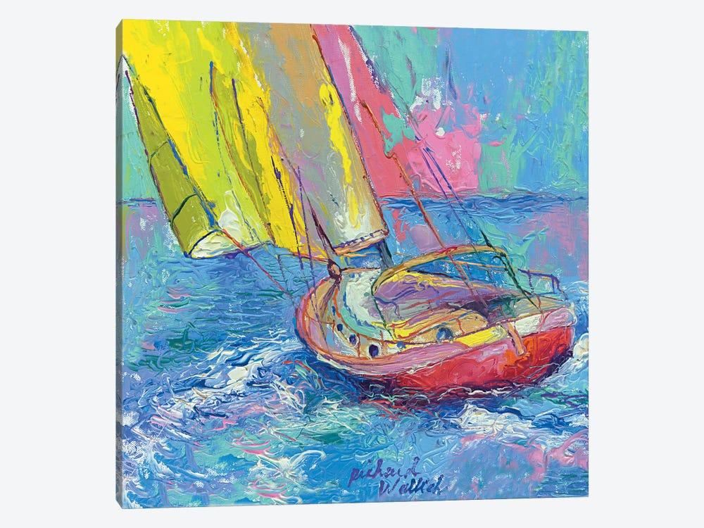 Sailboat by Richard Wallich 1-piece Art Print