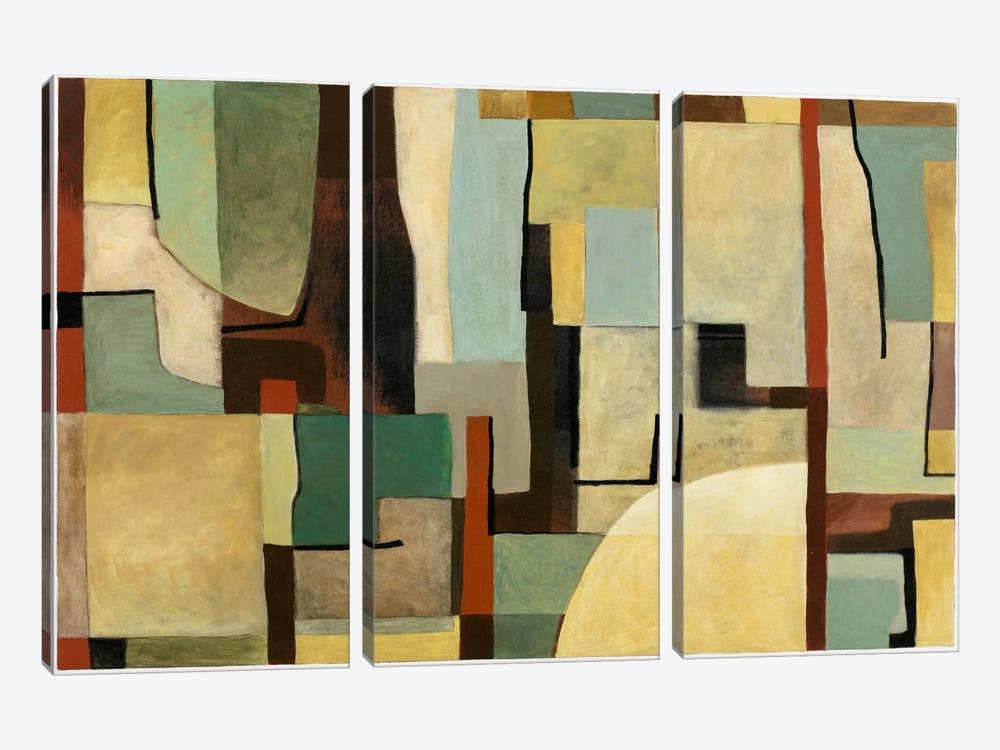 I93 by Pablo Esteban 3-piece Canvas Art