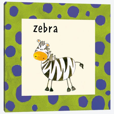 Zebra Canvas Print #9647} by Esteban Studio Canvas Art