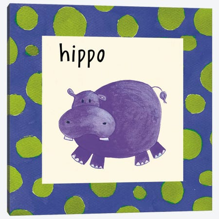 Hippo Canvas Print #9649} by Esteban Studio Canvas Art Print
