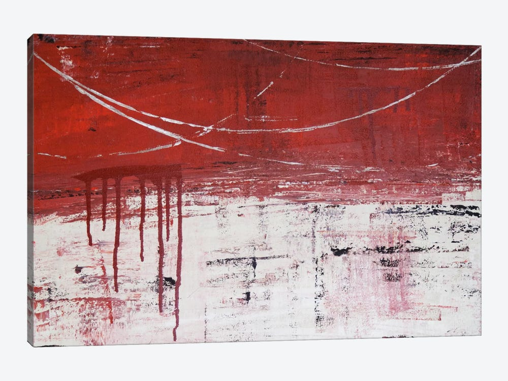 Lithoshpere XXXXIV by Hilary Winfield 1-piece Canvas Print