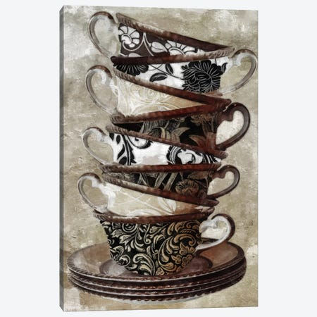 Tea I Canvas Print #9664} by Color Bakery Canvas Wall Art