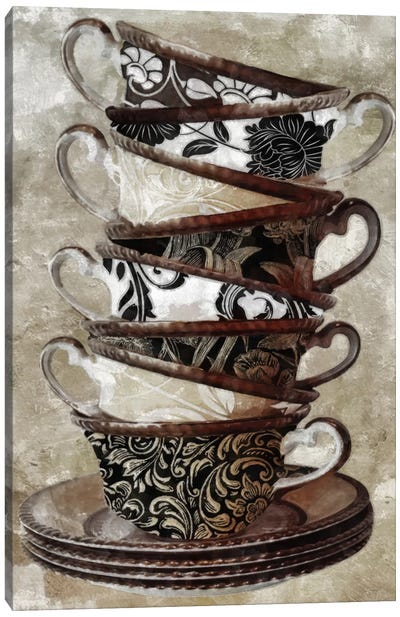 Tea I Canvas Art Print