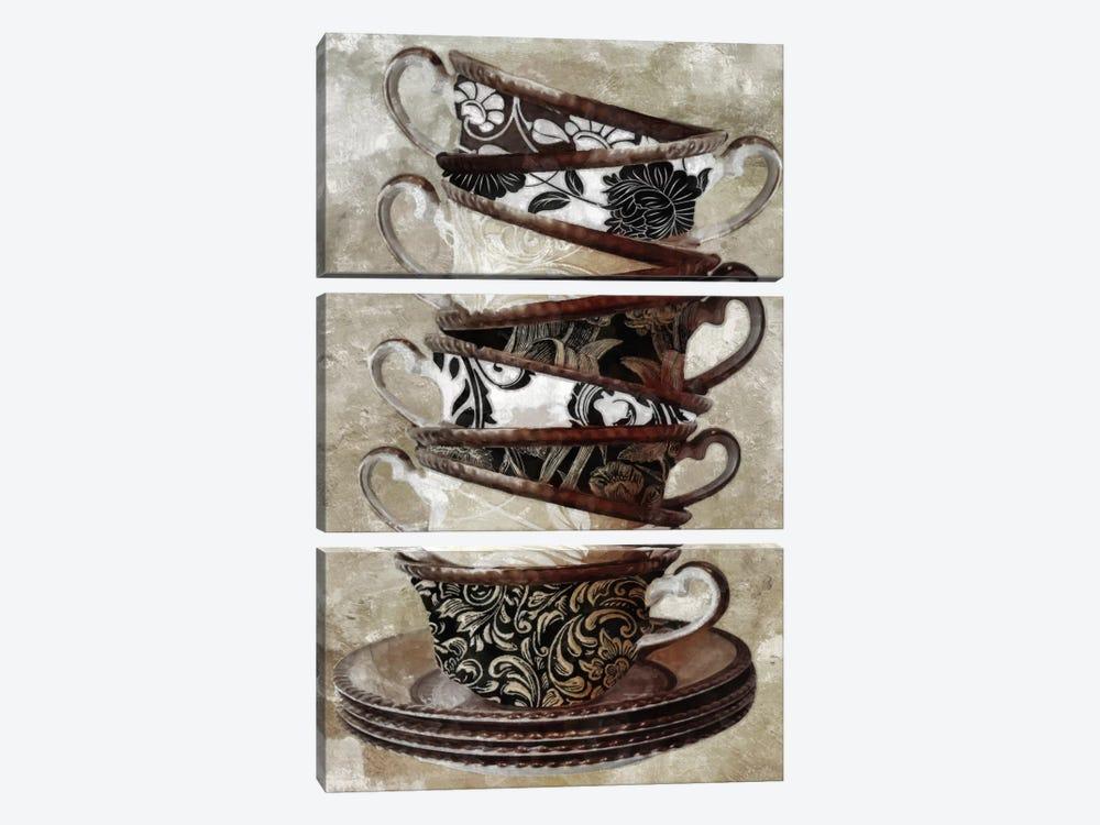 Tea I by Color Bakery 3-piece Canvas Print