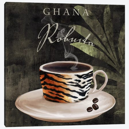 Afrikan Coffee IV Canvas Print #9667} by Color Bakery Canvas Artwork