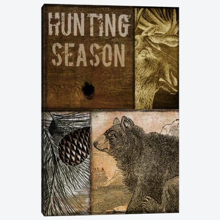 Hunting Season IV Canvas Print #9670} by Color Bakery Canvas Artwork