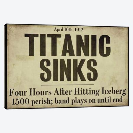 Titanic Canvas Print #9672} by Color Bakery Canvas Artwork
